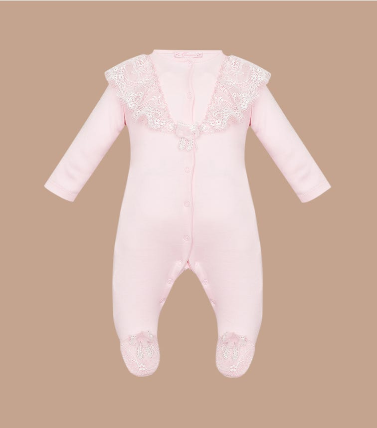 CHOUPETTE Frilled Lace Overall