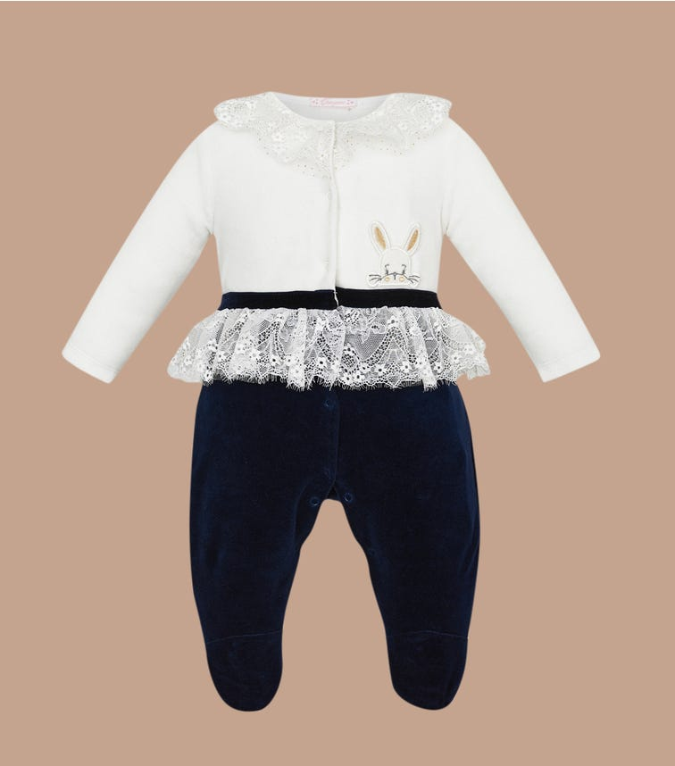 CHOUPETTE Ruffled Lace Overall
