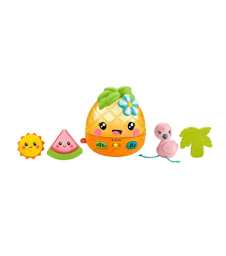 MATTEL Infant Party Time Pineapple & Friends Toys