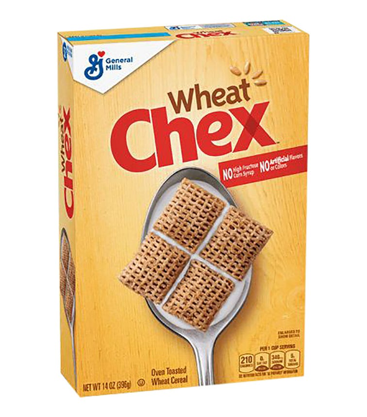GENERAL MILLS Wheat Chex Cereal - 397 G