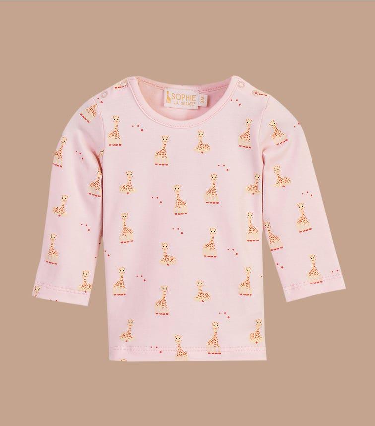 SOPHIE LA GIRAFE Pink Printed Top
