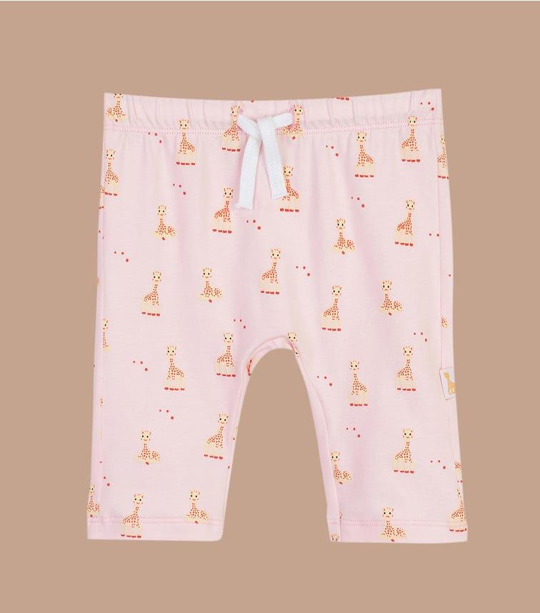 SOPHIE LA GIRAFE Pink Printed Pants