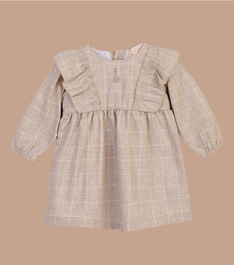 SOPHIE LA GIRAFE Beige Woven Dress