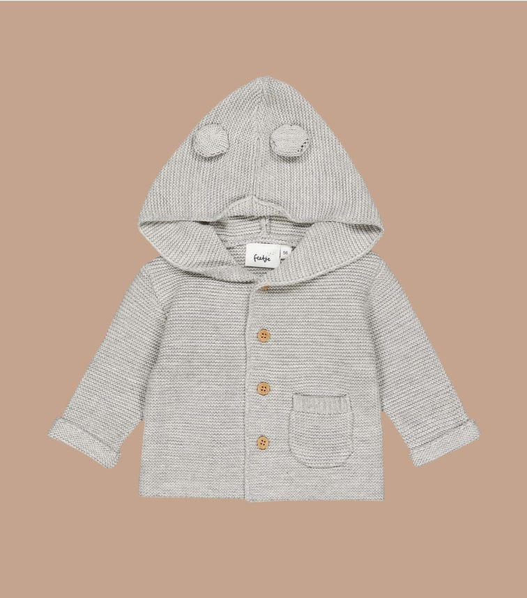 FEETJE Knitted Cardigan With Hoodie - Welcome To Earth