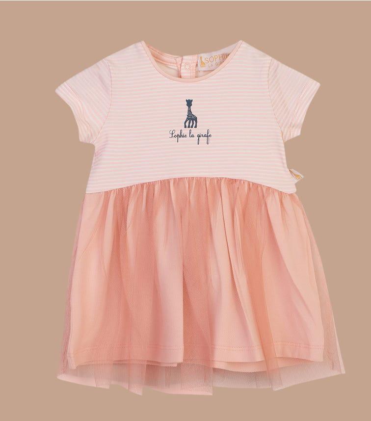 SOPHIE LA GIRAFE Woven Mix Dress