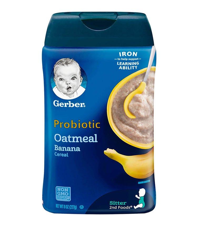 GERBER 2nd Foods Probiotic Oatmeal Cereal 227 G