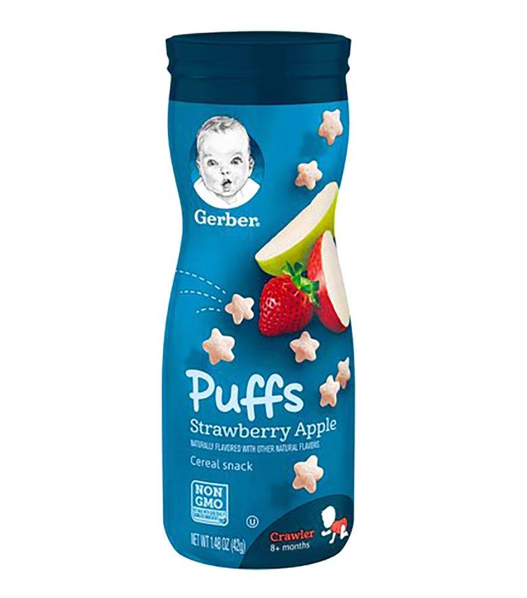 GERBER Puffs Strawberry Apple 42 G