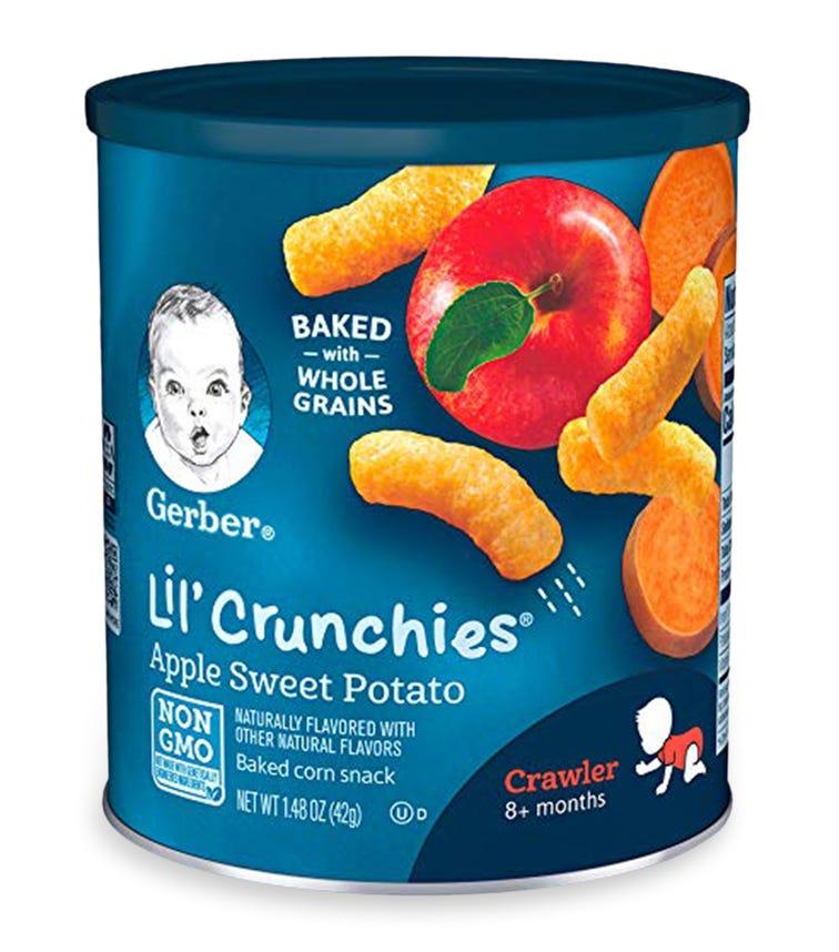 GERBER Crunchie Crawler Apple Sweet Potato 42 G