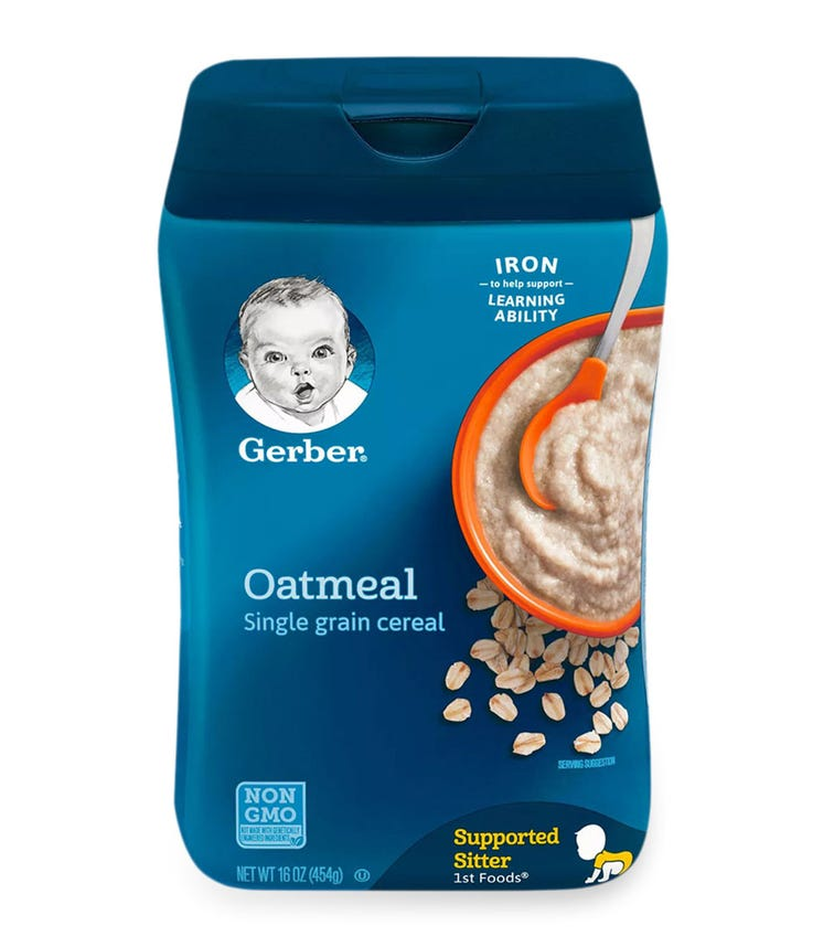 GERBER 1st Foods Single Grain Cereal 453 G