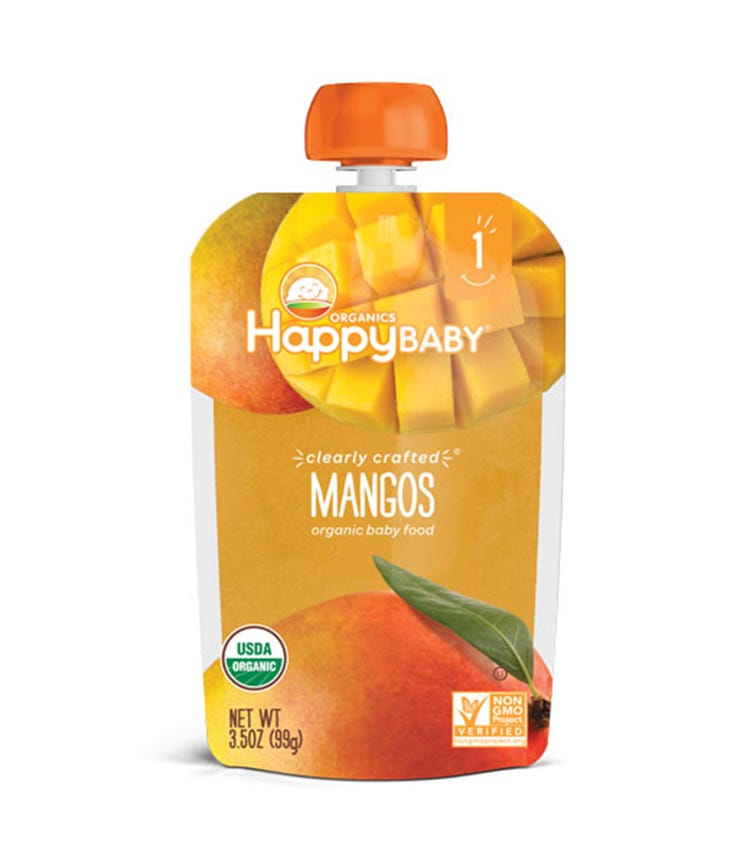 HAPPY FAMILY ORGANIC Clearly Crafted Stage 1 Baby Food 99G