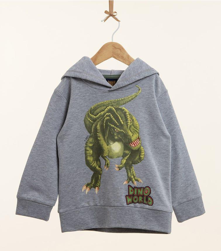 PUTTMANN Dinosaur Graphic Hoodie