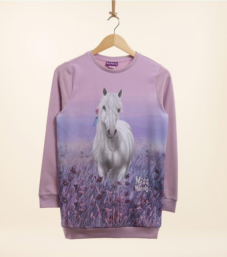 PUTTMANN Pony Graphic Sweatshirt