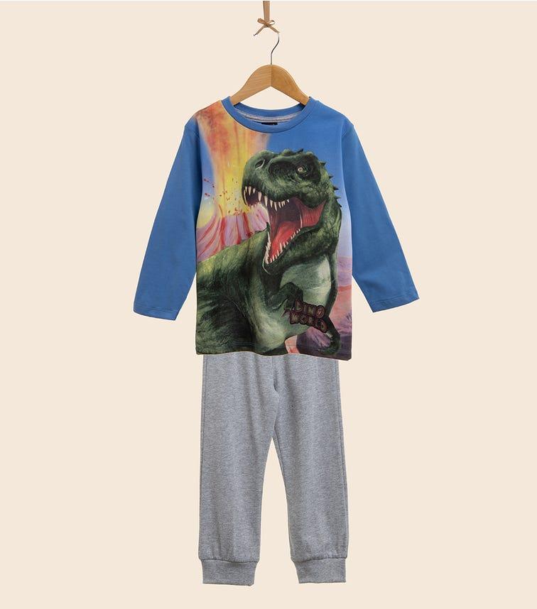 PUTTMANN Dinosaur Single PJ Set