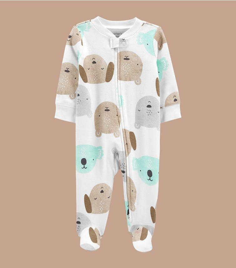 CARTER'S Koala 2-Way Zip Cotton Sleep & Play