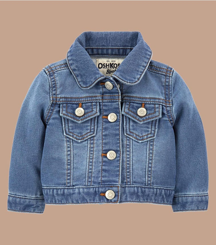 OSHKOSH Classic Knit Denim Jacket