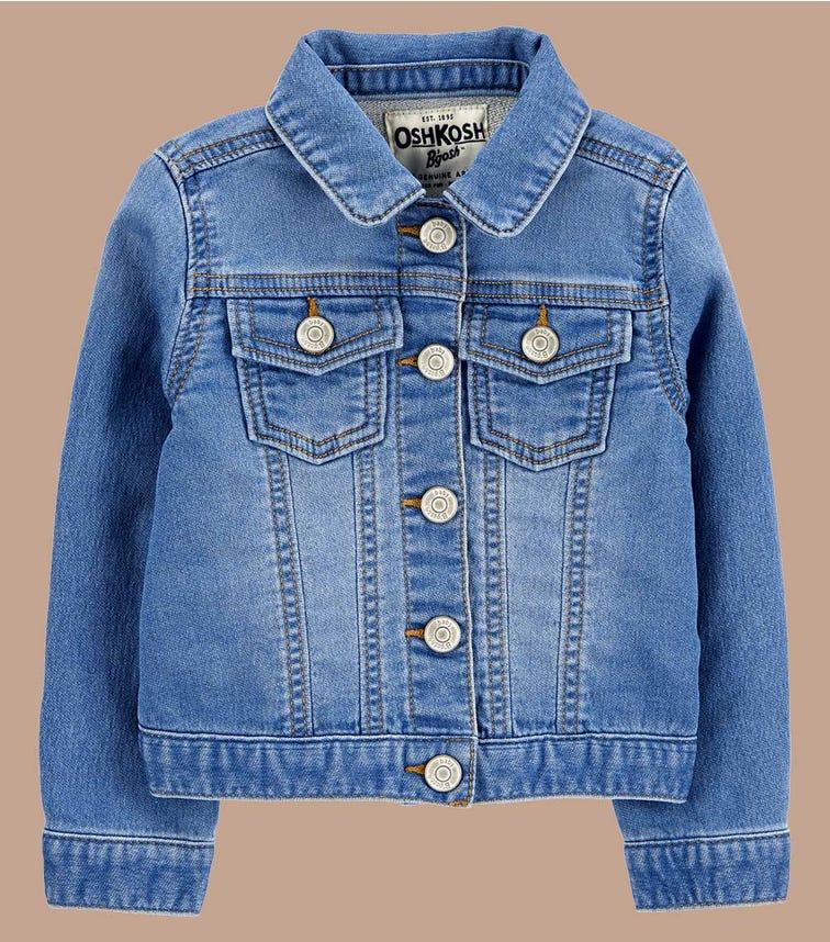 OSHKOSH Knit Denim Jacket