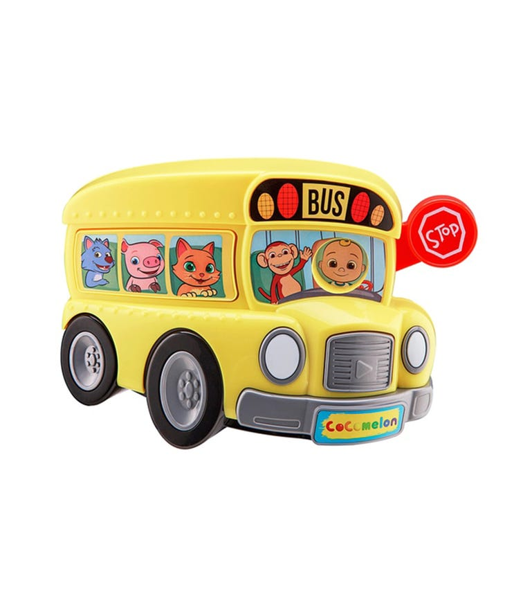 COCOMELON Battery-Operated Sing With Me School Bus