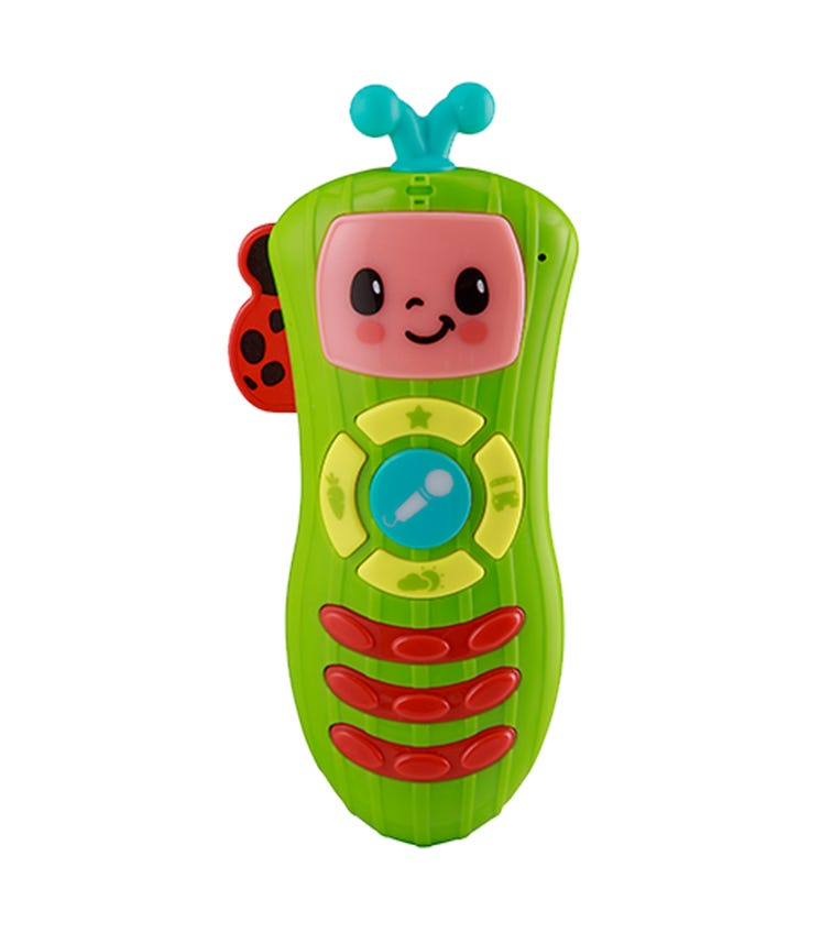 COCOMELON Battery-Operated My First Sing-Along Remote