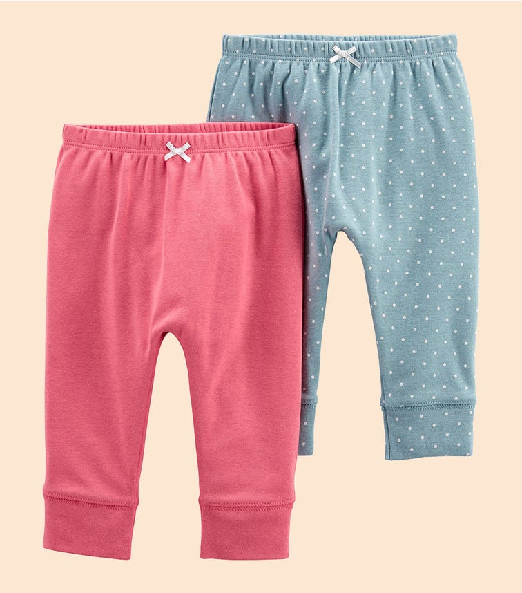 CARTER'S 2-Pack Pull-On Pants