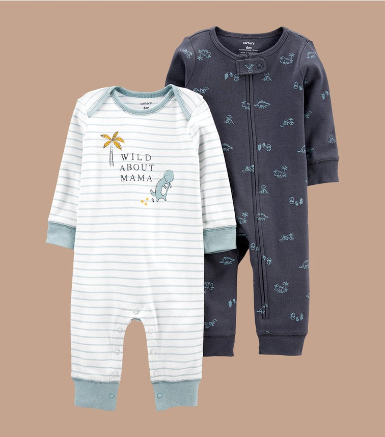 CARTER'S 2-Pack Jumpsuits