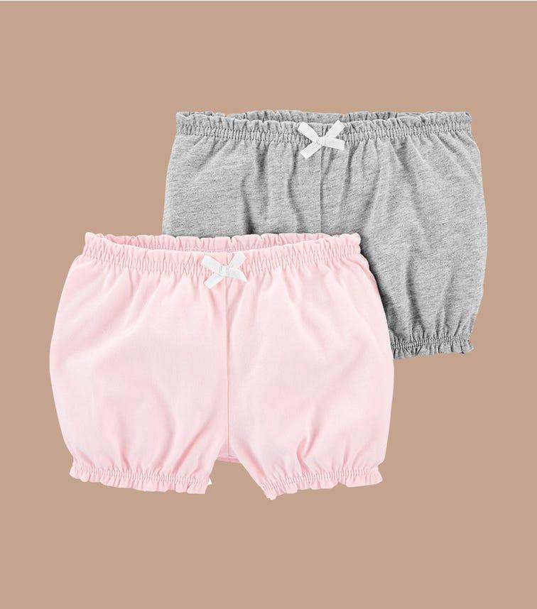 CARTER'S 2-Pack Bubble Shorts