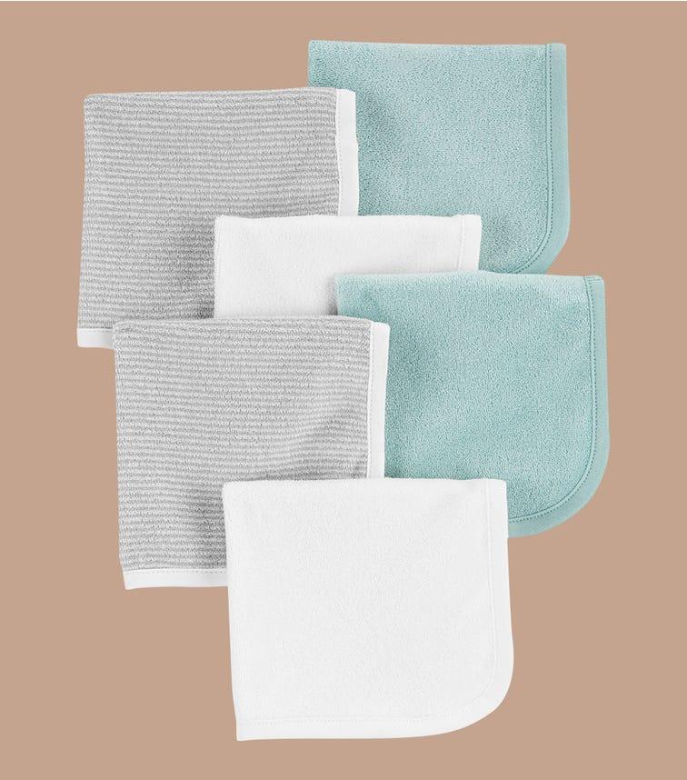 CARTER'S 6-Pack Wash Cloths
