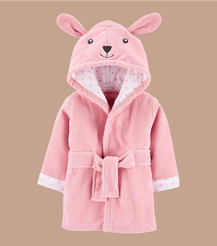 CARTER'S Bunny Hooded Bath Robe