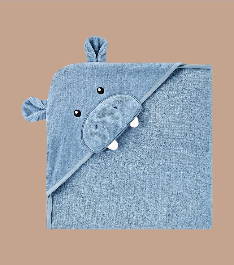 CARTER'S Hippo Hooded Towel