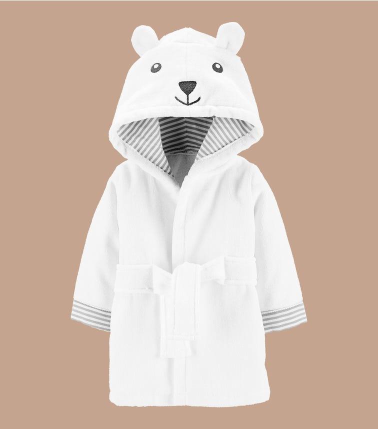 CARTER'S Bear Hooded Bath Robe