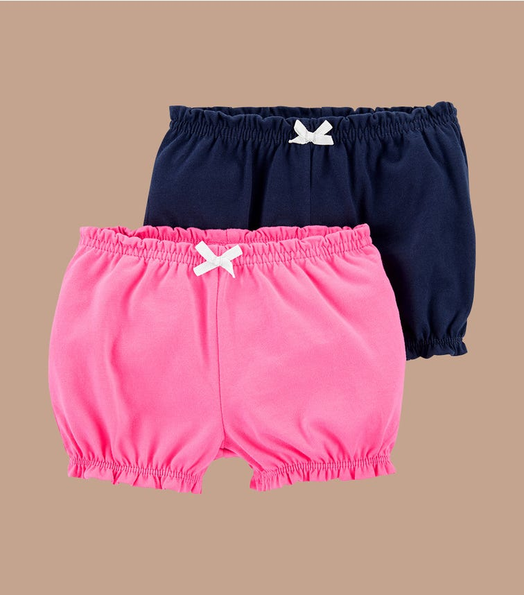 CARTER'S 2-Pack Cotton Shorts
