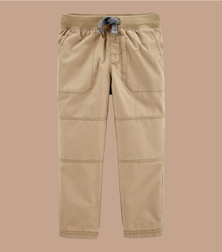 CARTER'S Pull-On Reinforced Knee Pants