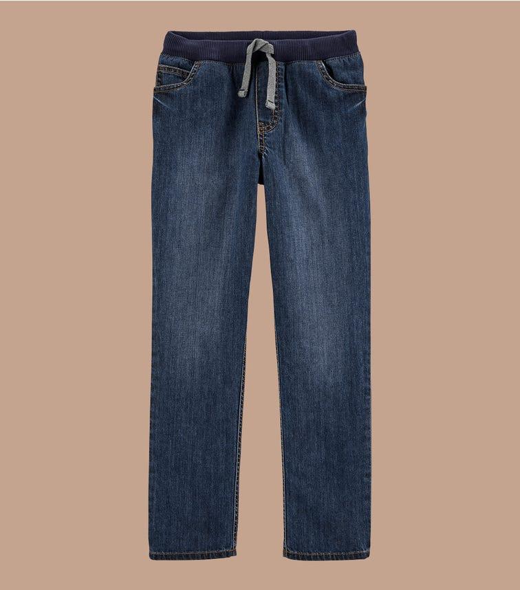 CARTER'S Pull-On Denim Pants