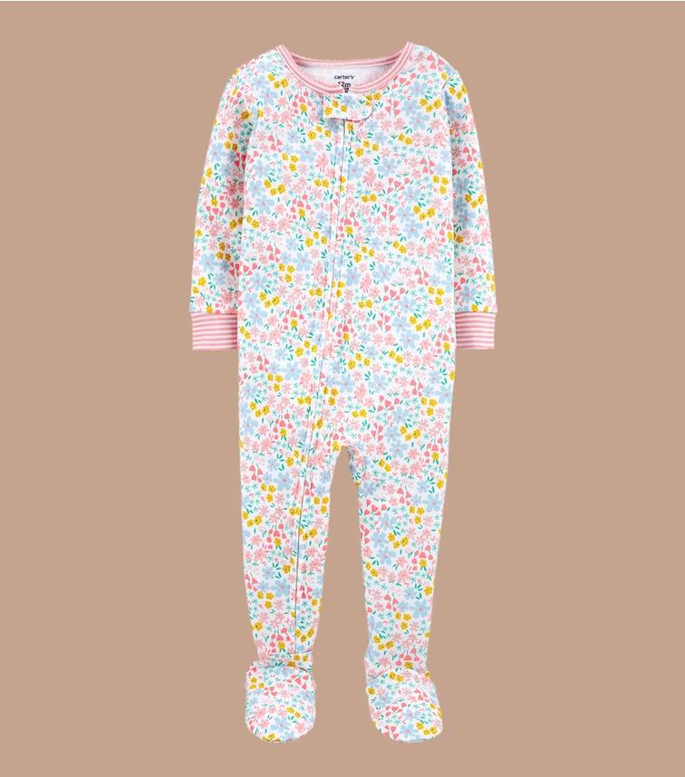 CARTER'S 1-Piece 100% Snug Fit Cotton Footie Pjs