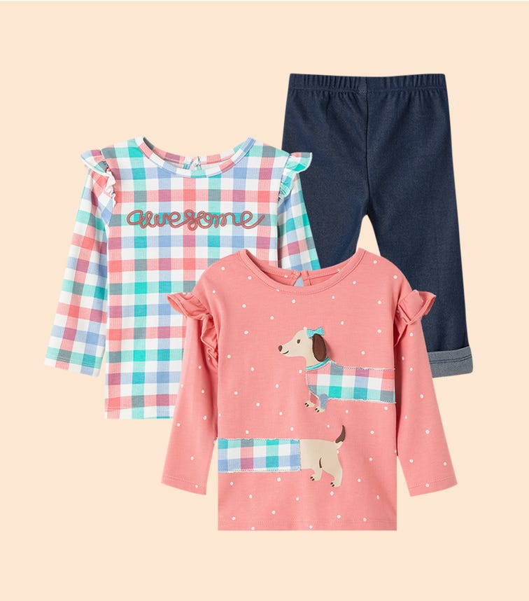 LITTLE ME Puppy 3-Piece Play Sets