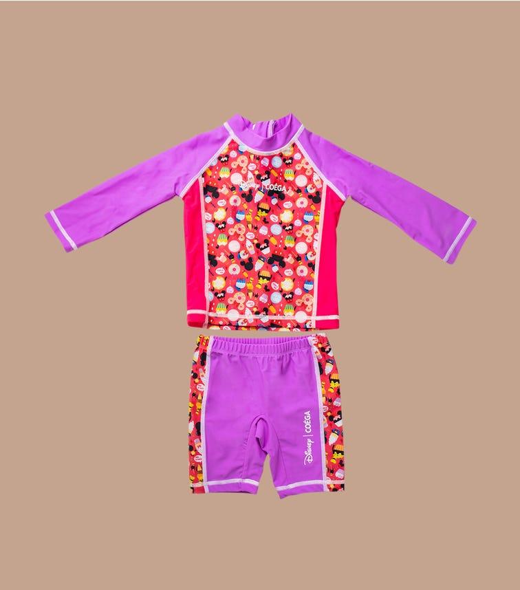 COEGA Disney Girls Baby Swimsuit - Peachy Treats Minnie