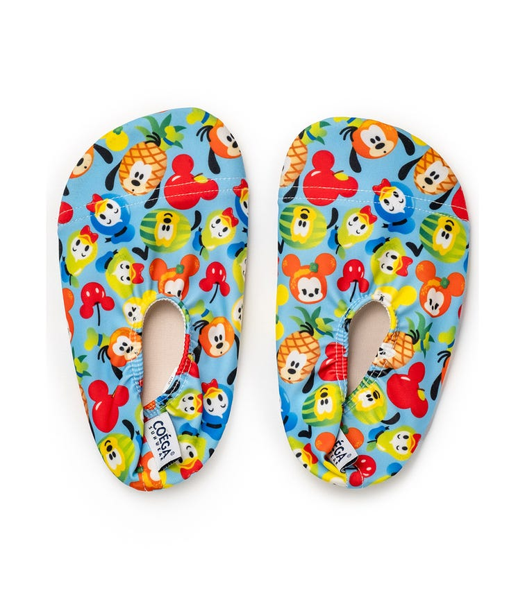 COEGA Disney Girls Baby Pool Shoes - Blue Fruity Mickey