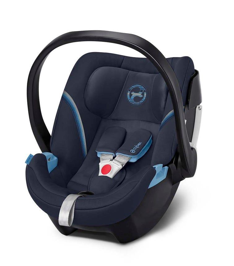 CYBEX Aton 5 Infant Car Seat - Navy Blue