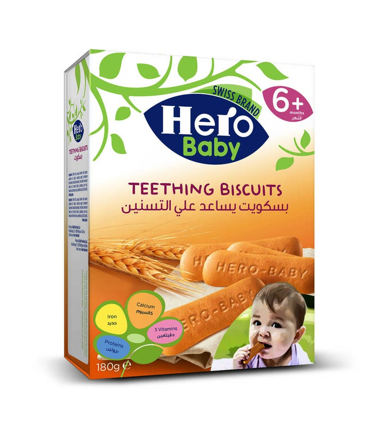 HERO Baby Biscuits 180 G