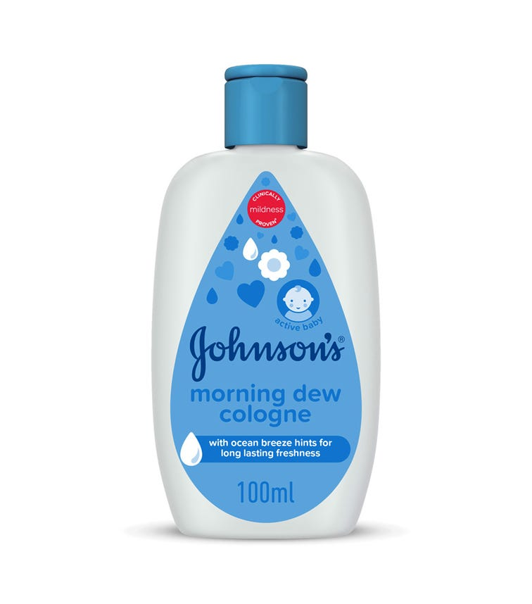 JOHNSONS BABY Cologne, Morning Dew, 100 ML