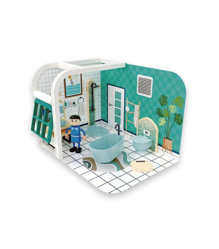 JOUECO Bathroom Playset