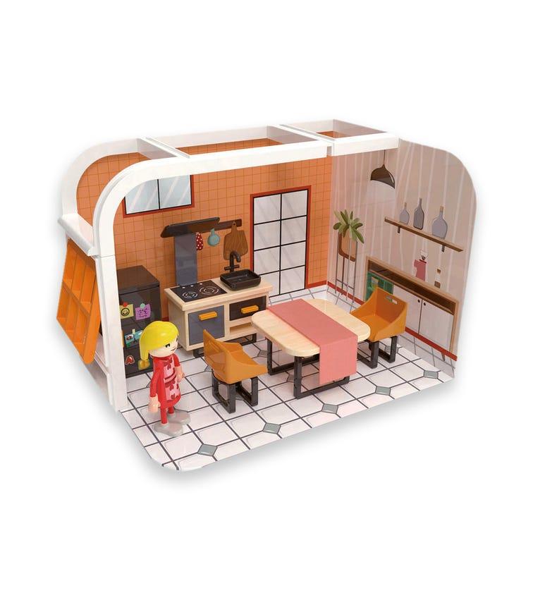 JOUECO Kitchen Playset