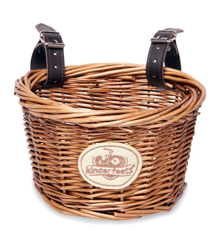 KINDERFEETS Wicker Bike Basket