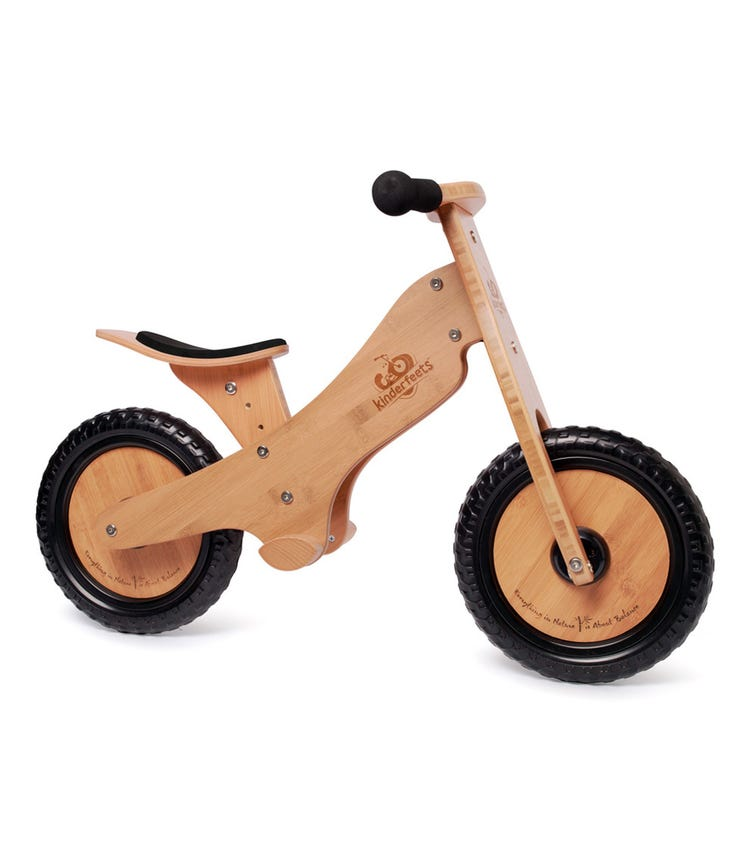 KINDERFEETS Balance Bike Bamboo