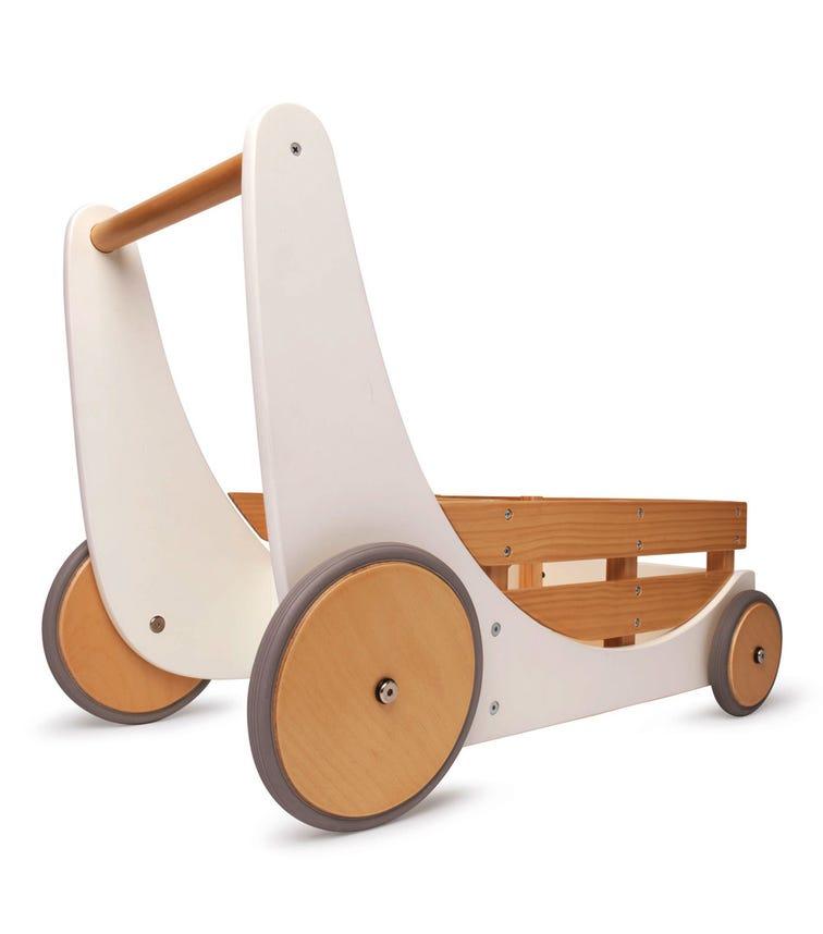 KINDERFEETS Toy Cargo Walker White