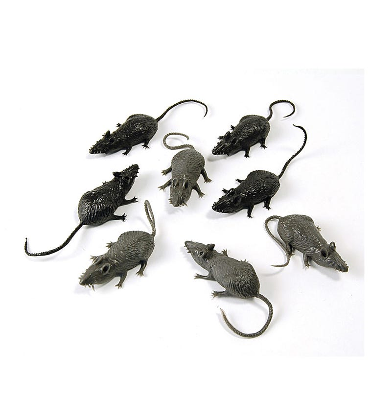 Rubies Scary Creatures - Mice (8 Pieces)