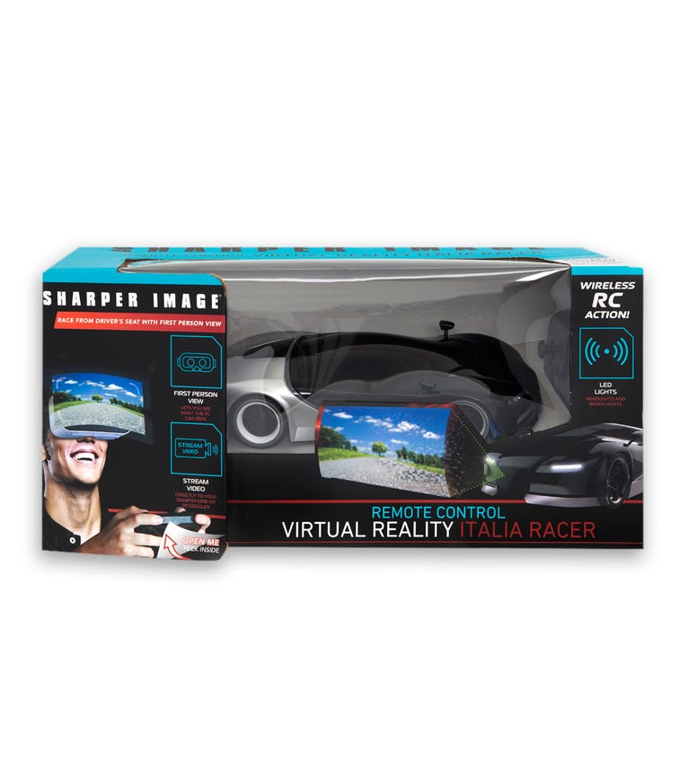 SHARPER IMAGE RC Italia Racer 1:16 With VR Viewer