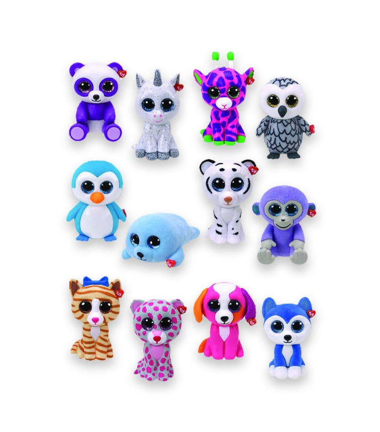 TY Mini Boos Collectibles Series 2