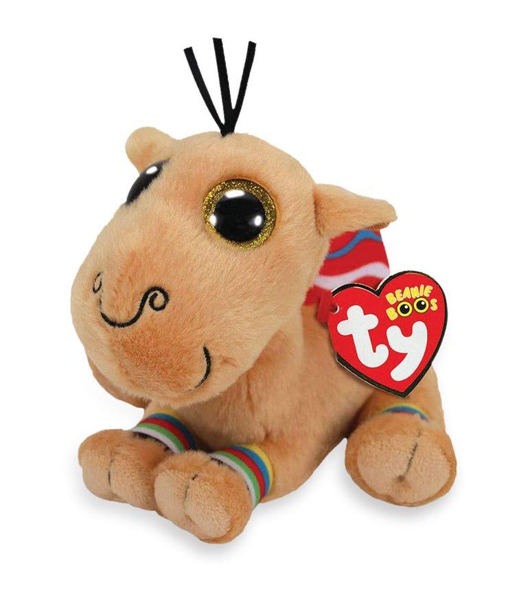 TY Beanie Boos Camel Jamal Brown Large