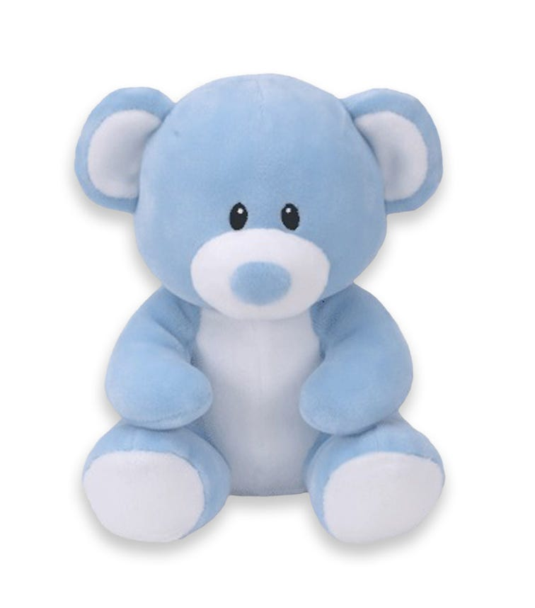 TY Baby Ty Bear Lullaby Blue Large 18 Inches