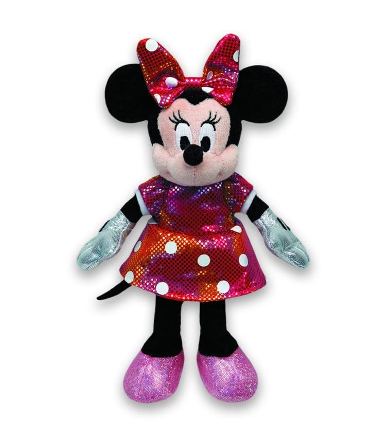 TY Disney Minnie Sparkle Rainbow With Sound (Medium)